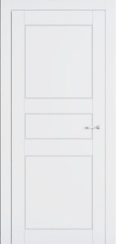 Двери Омега Allure Ницца ПГ Белый мат