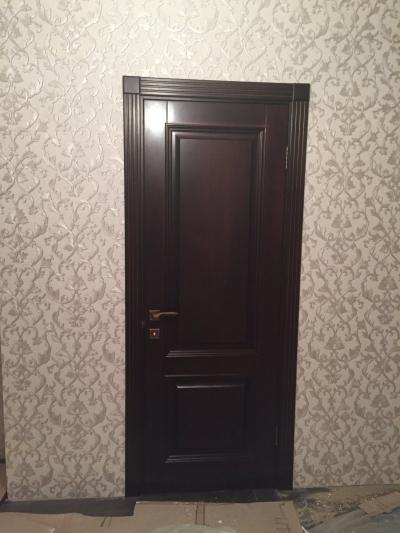 Двери из массива № М-10 тип 1(А)