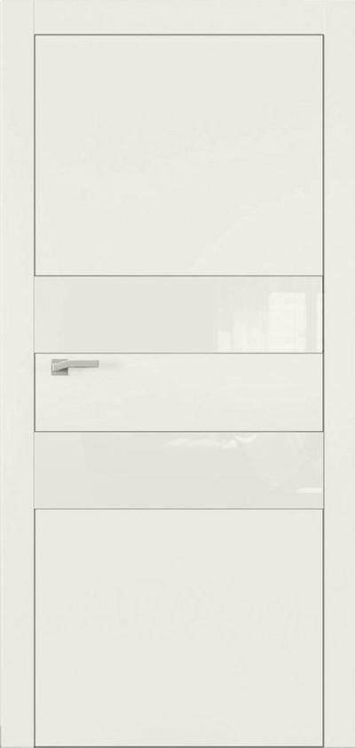 Двери Омега Art Vision А2 Стекло белое