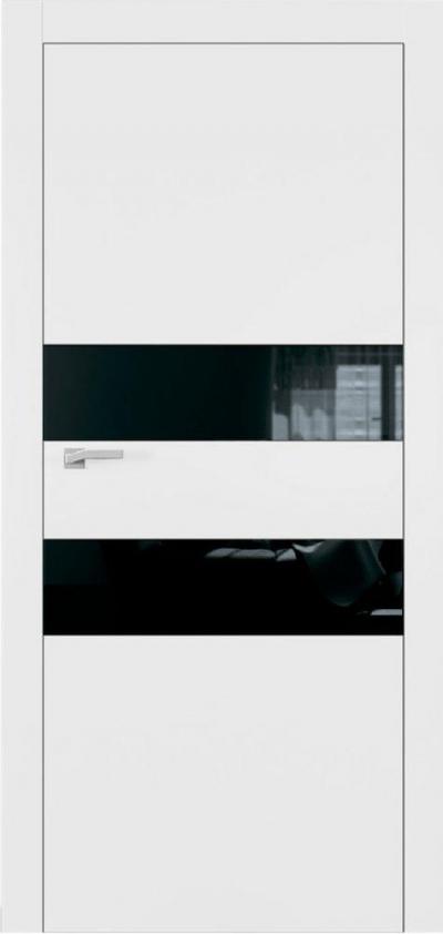 Двери Омега Art Vision А2 Стекло черное