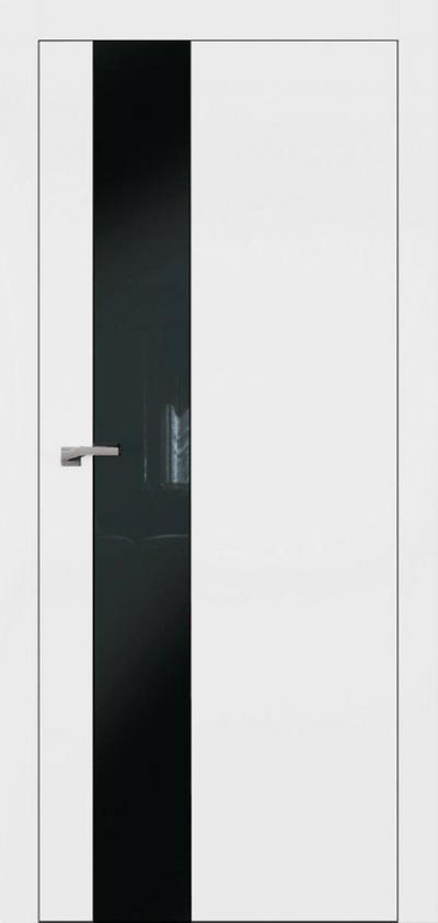 Двери Омега Art Vision А3 Стекло черное