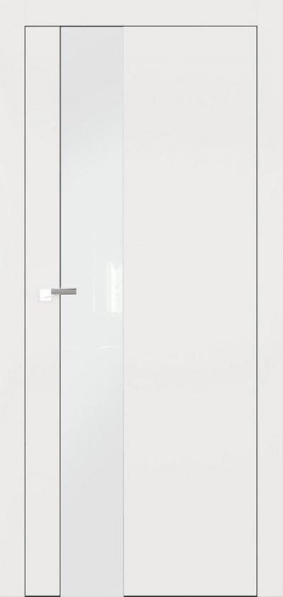 Двери Омега Art Vision А3 Стекло белое