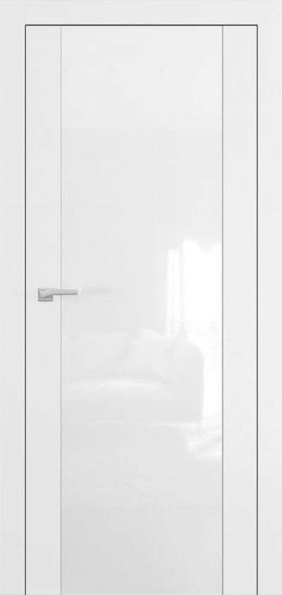 Двери Омега Art Vision А4 Белый мат