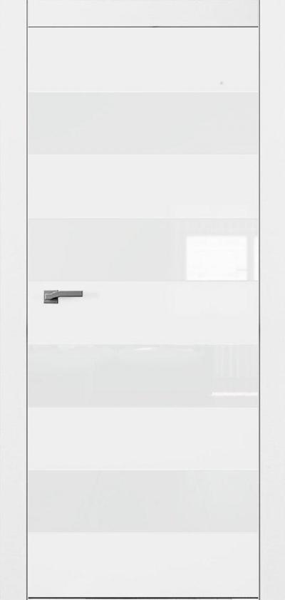Двери Омега Art Vision А5 Стекло белое