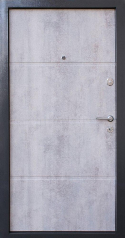 Qdoors Премиум Бостон-М бетон темный / бетон светлый