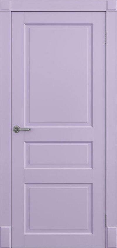 Двери Омега Amore Classic Лондон ПГ Рал наличник гладкий