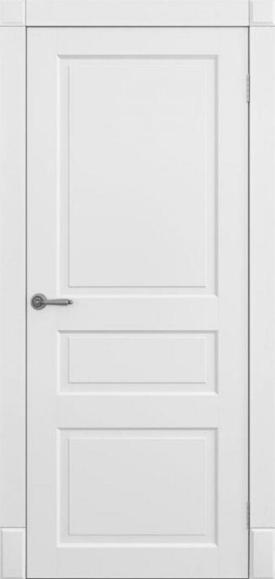 Двери Омега Amore Classic Лондон ПГ Белый мат