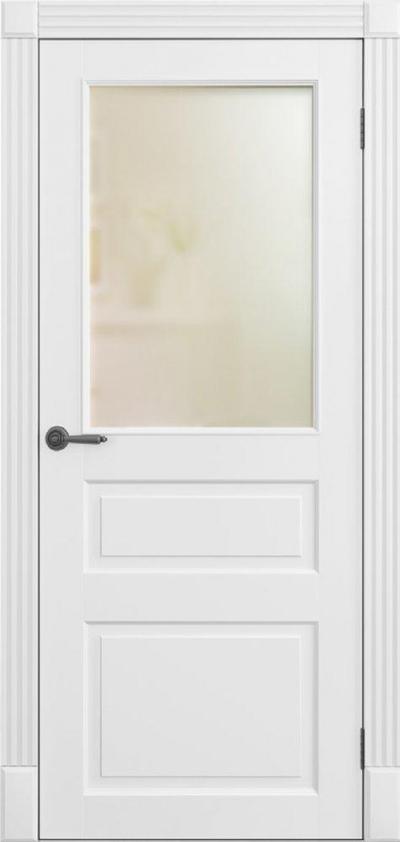 Двери Омега Amore Classic Лондон ПО Белый мат