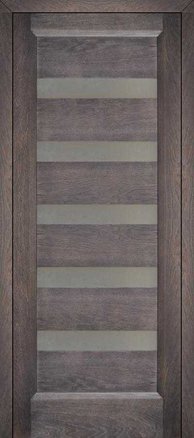 Галерея Дверей горизонталь 2 дуб седой