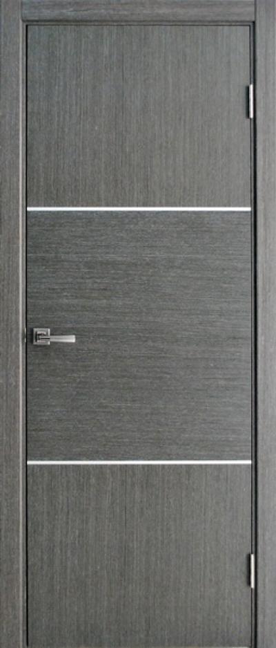 Галерея Дверей лайн серый f7