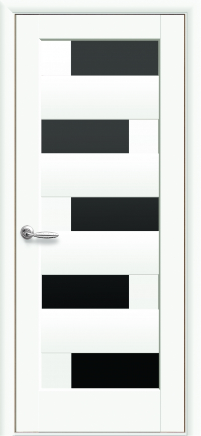 Новый стиль пиана белый мат черное стекло