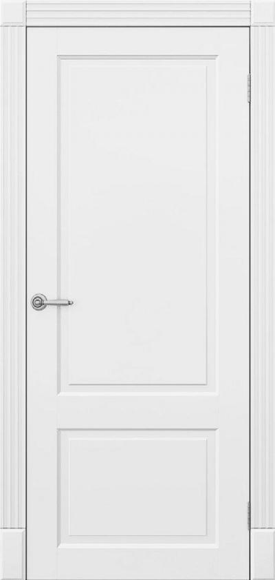 Двери Омега Amore Classic Милан ПГ Белый мат