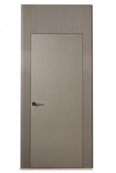 Скрытые двери + МДФ панель