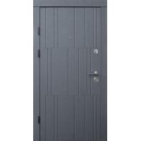 Qdoors Премиум Арт бетон графит / бетон крем