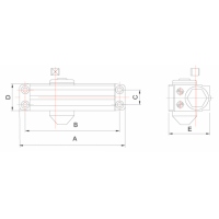 доводчик dc1-186-iii МВМ  Фурнитура для дверей