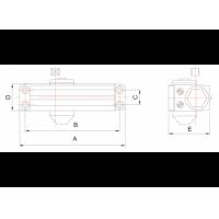 доводчик dc1-223-iv МВМ  Фурнитура для дверей