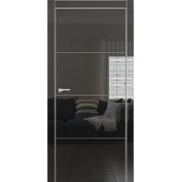 Двери Омега Galaxy Metalbox глянец Black NEW HG 6002