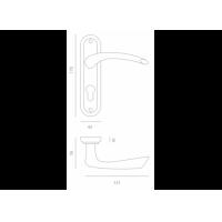 комплект a-2005 pz МВМ  Фурнитура для дверей