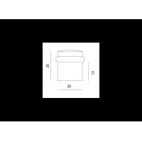упор дверной m-25 МВМ  Фурнитура для дверей