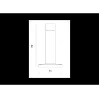 упор дверной m-75 МВМ  Фурнитура для дверей