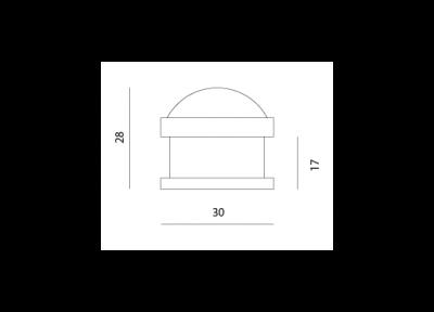 упор дверной m-38 МВМ  Фурнитура для дверей